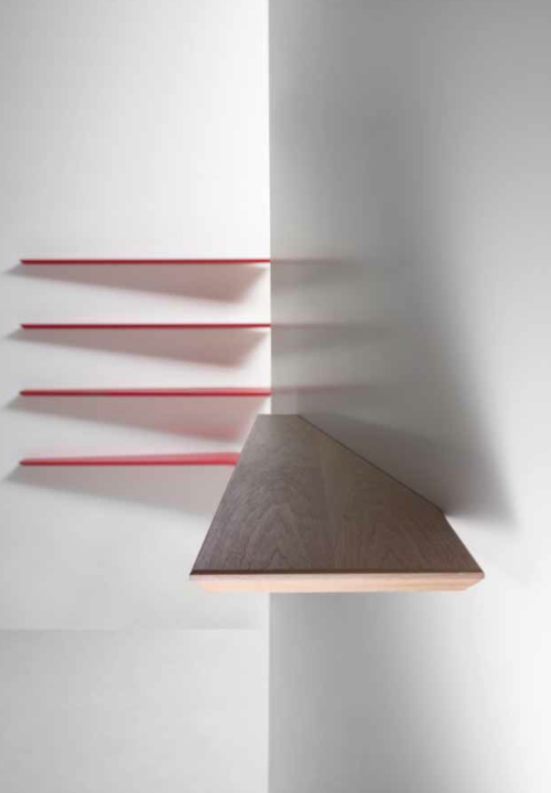 lamp aan plank