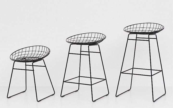 pastoe_wire stool